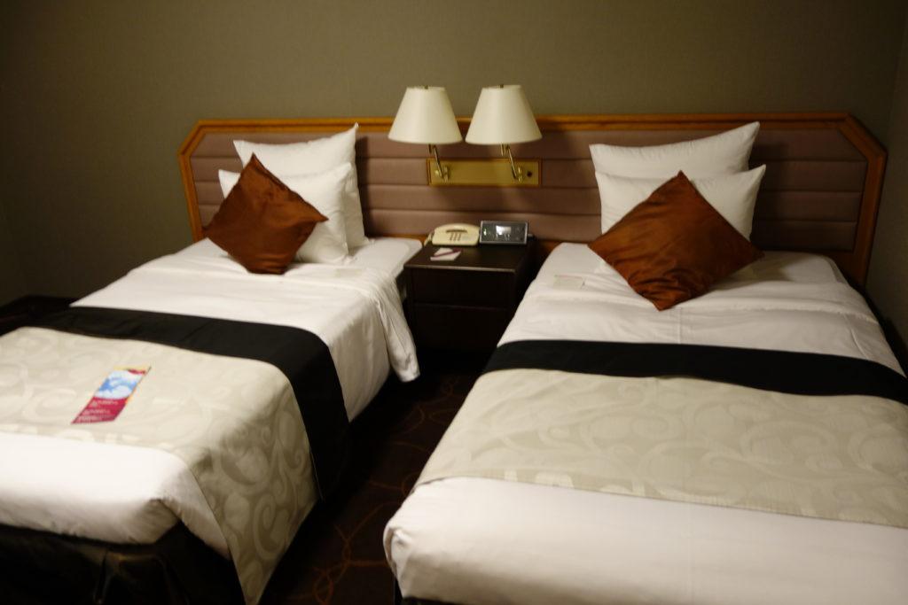 ANAクラウンプラザホテル沖縄ハーバービューベッド