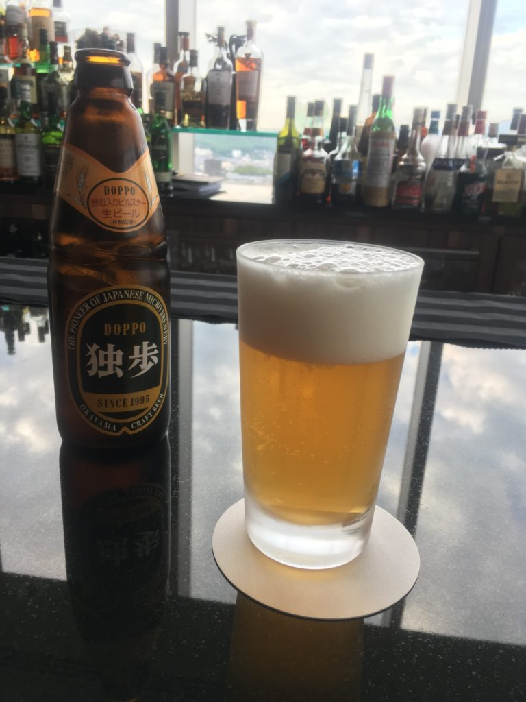 ANAクラウンプラザ岡山独歩ビール