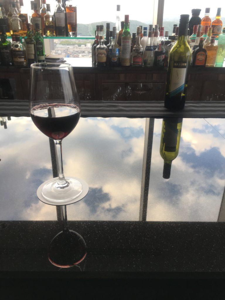 ANAクラウンプラザ岡山赤ワイン