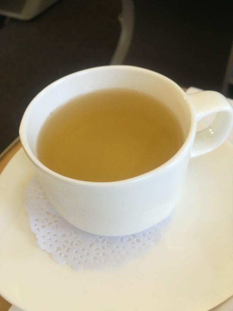 アシアナ航空ビジネスクラスお茶