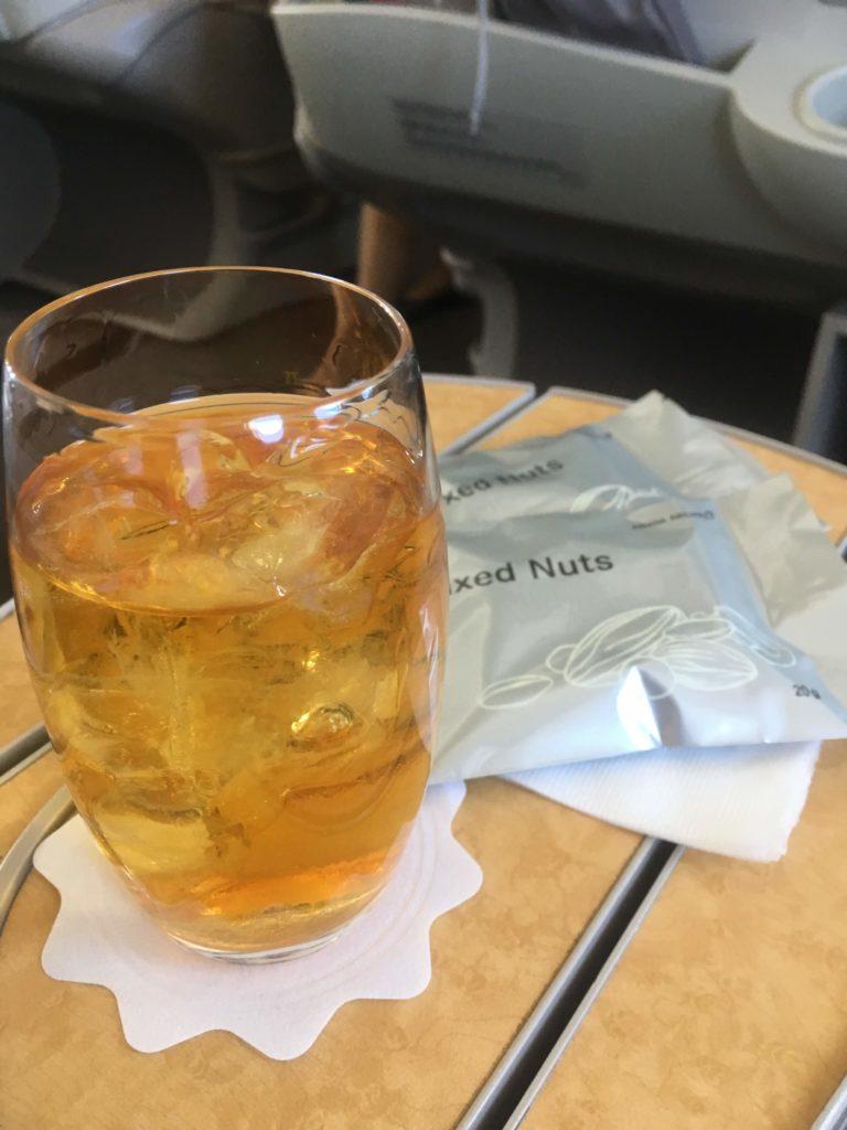 アシアナ航空ビジネスクラスウイスキー