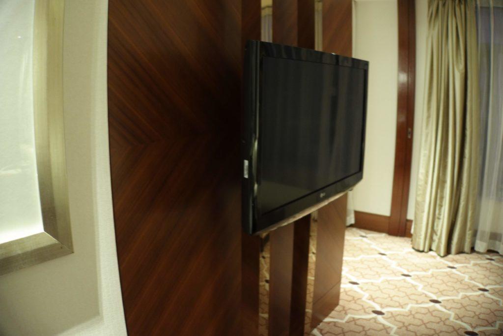 ウェスティン外灘センター上海お部屋テレビ1