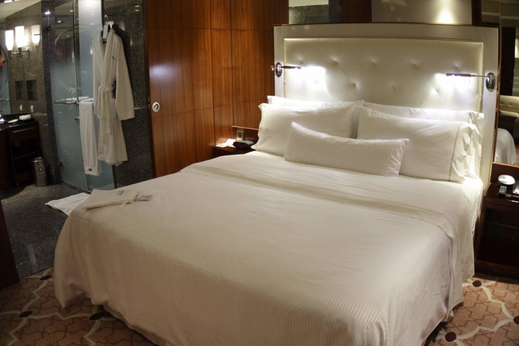 ウェスティン外灘センター上海お部屋ベッド