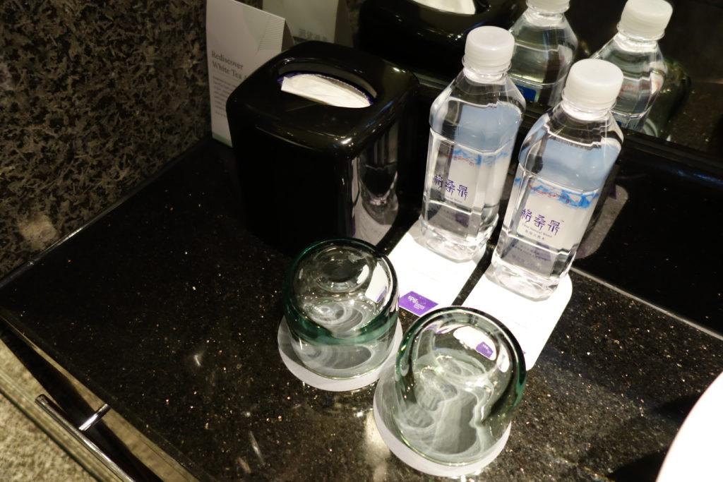 ウェスティン外灘センター上海お部屋無料の水