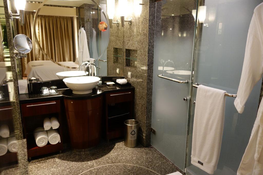 ウェスティン外灘センター上海お部屋バスルーム