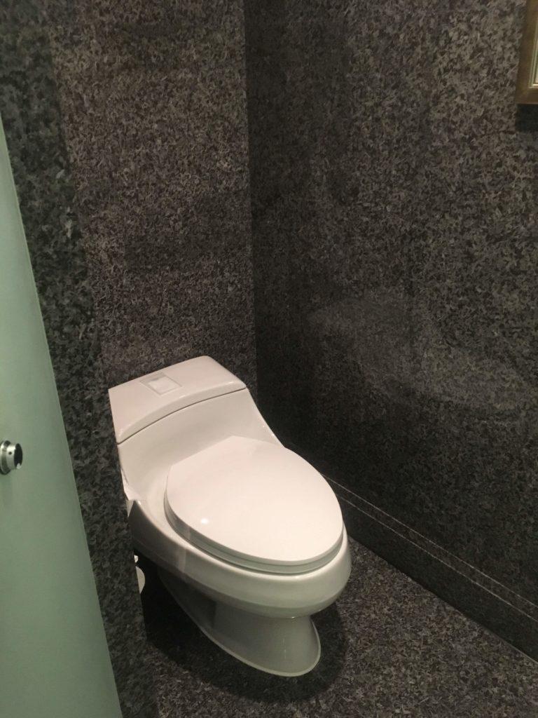 ウェスティン外灘センター上海お部屋トイレ