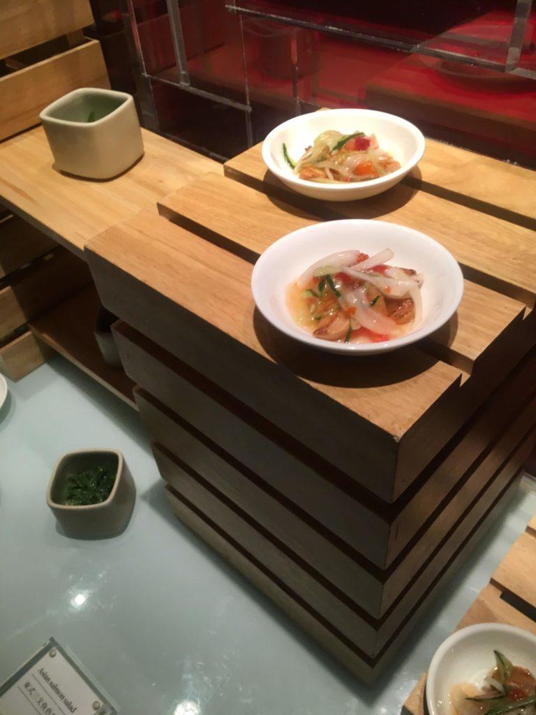 ウェスティン外灘センター上海ラウンジ小皿料理2