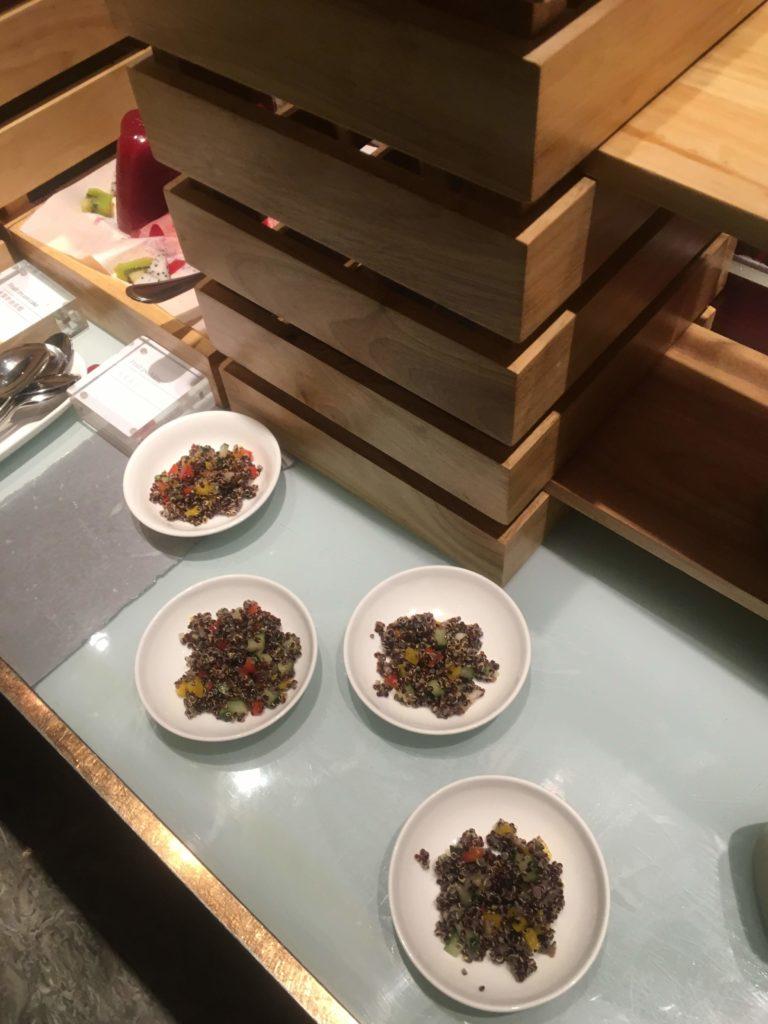 ウェスティン外灘センター上海ラウンジ小皿料理3