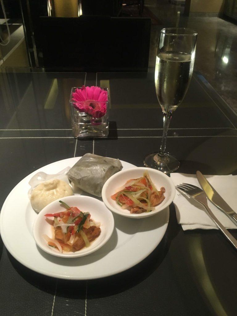 ウェスティン外灘センター上海ラウンジお食事4