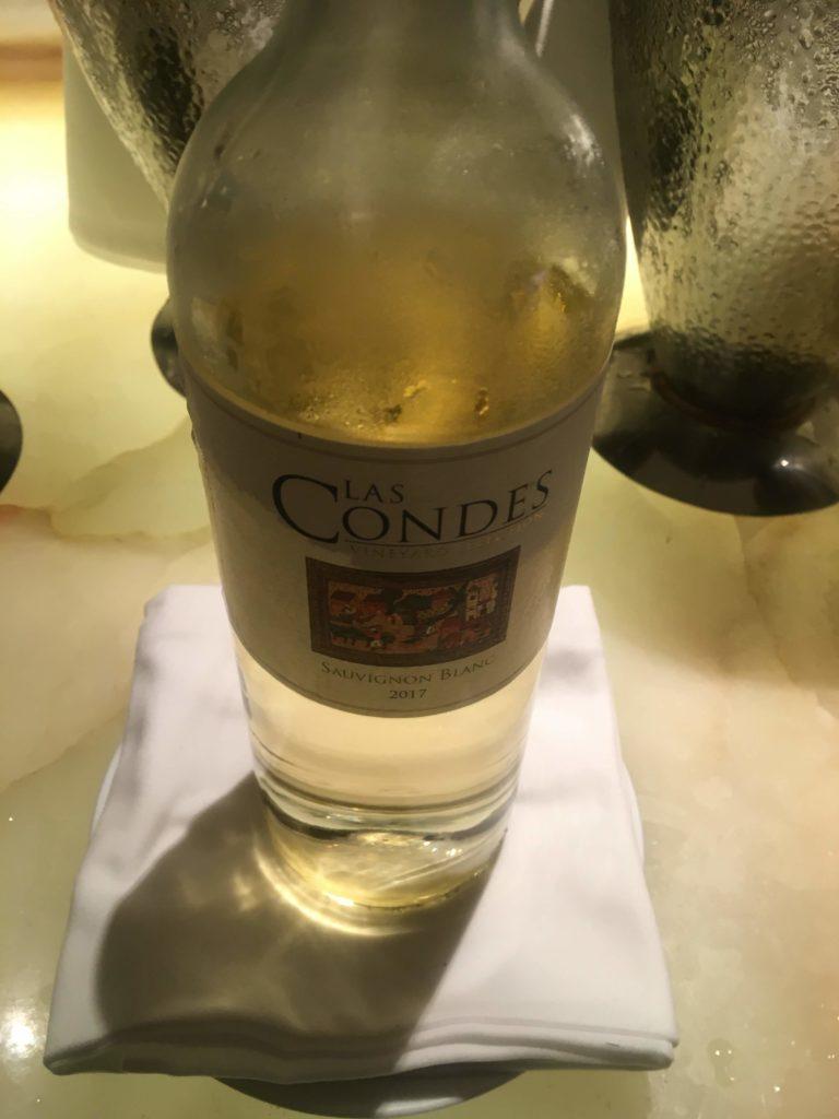 ウェスティン外灘センター上海ラウンジ白ワイン2