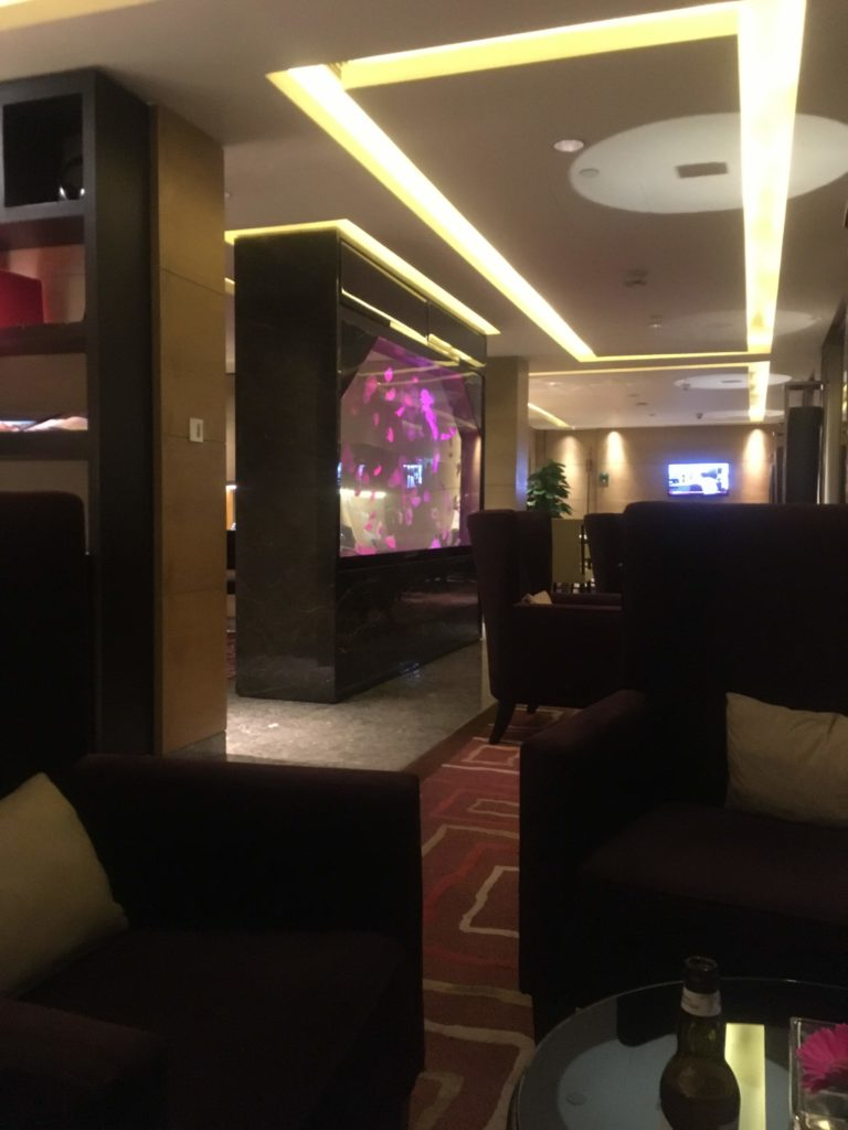 ウェスティン外灘センター上海ラウンジ座席雰囲気