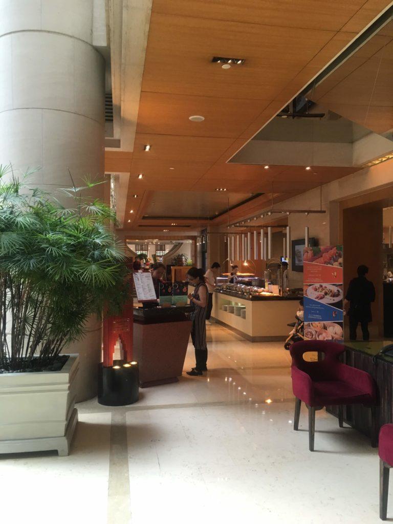 ウェスティン外灘センター上海朝食会場