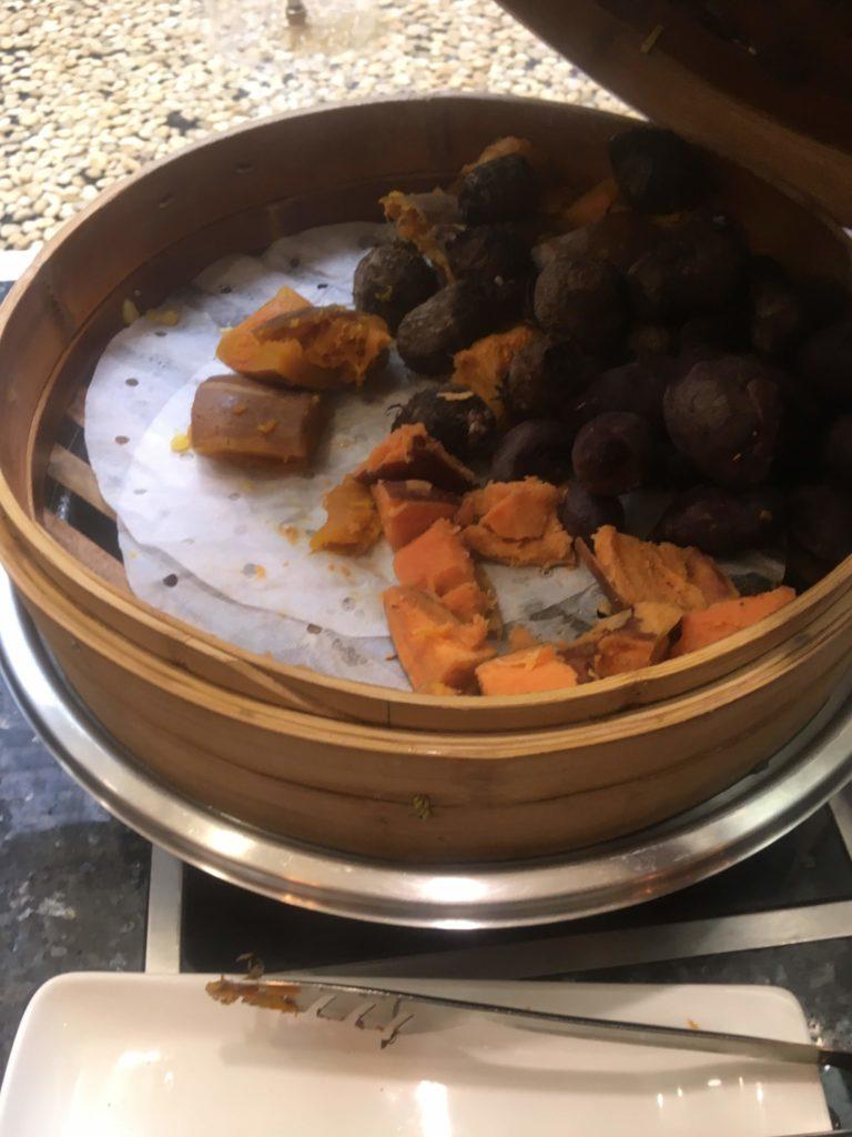 ウェスティン外灘センター上海朝食蒸し野菜