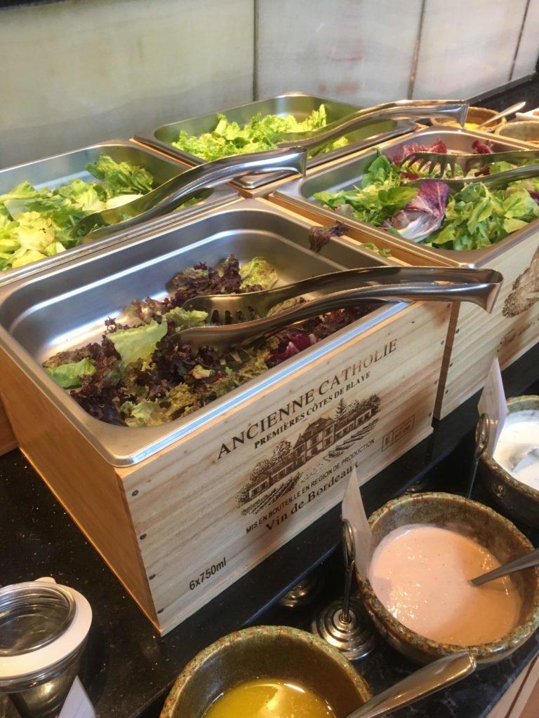 ウェスティン外灘センター上海朝食サラダ