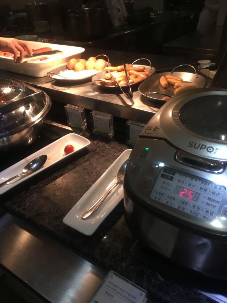 ウェスティン外灘センター上海朝食洋食