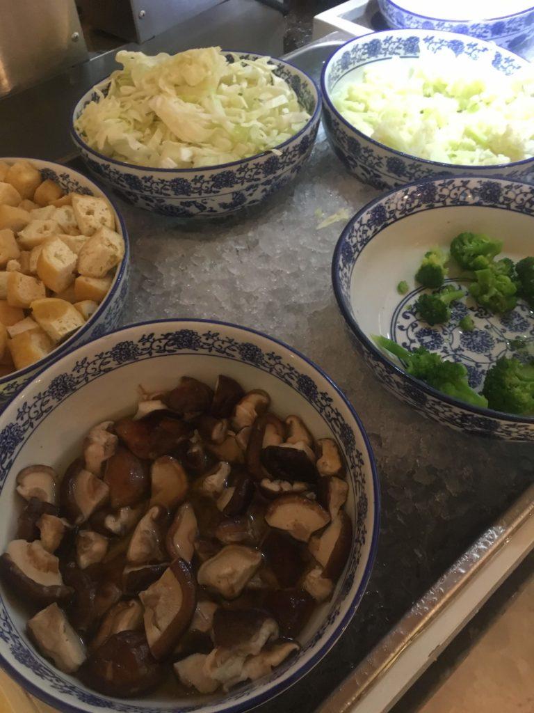 ウェスティン外灘センター上海朝食ヌードルバー
