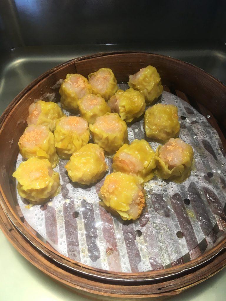 コートヤード台北ラウンジ朝食シュウマイ