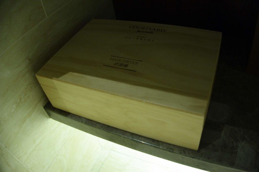 コートヤード台北部屋箱