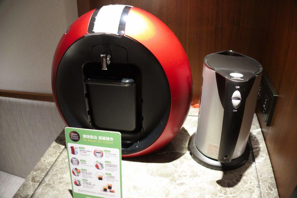 コートヤード台北部屋コーヒーマシン
