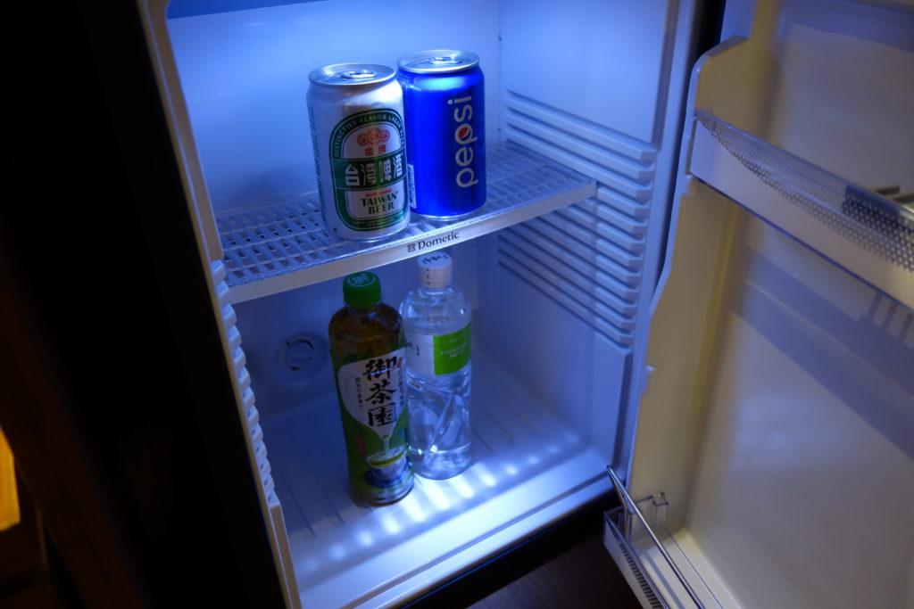 コートヤード台北部屋無料冷蔵庫