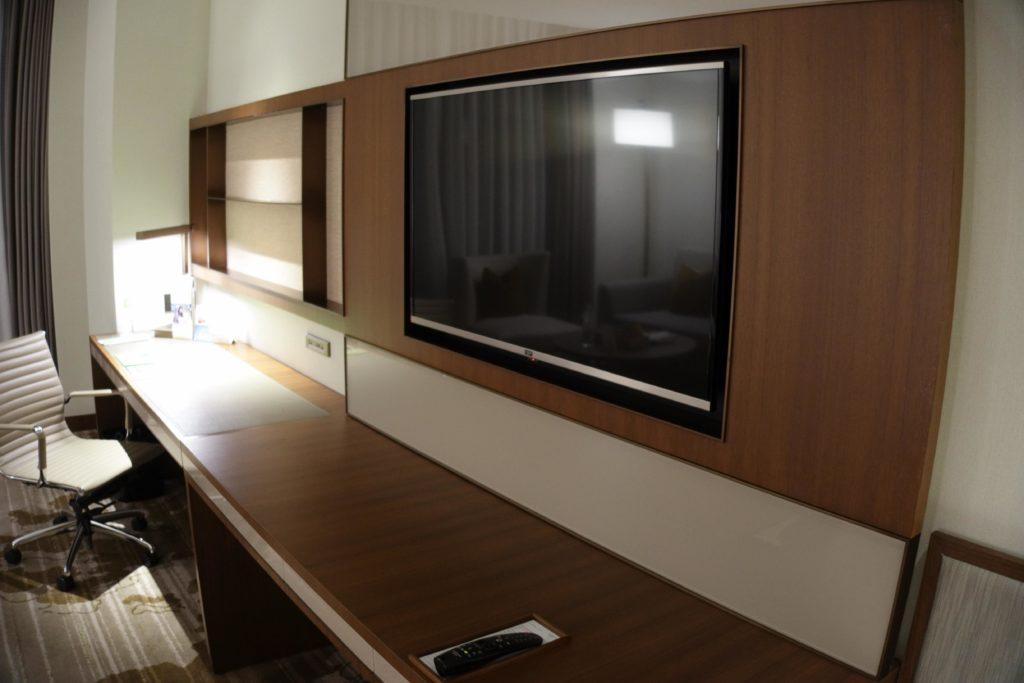 コートヤード台北部屋テレビ