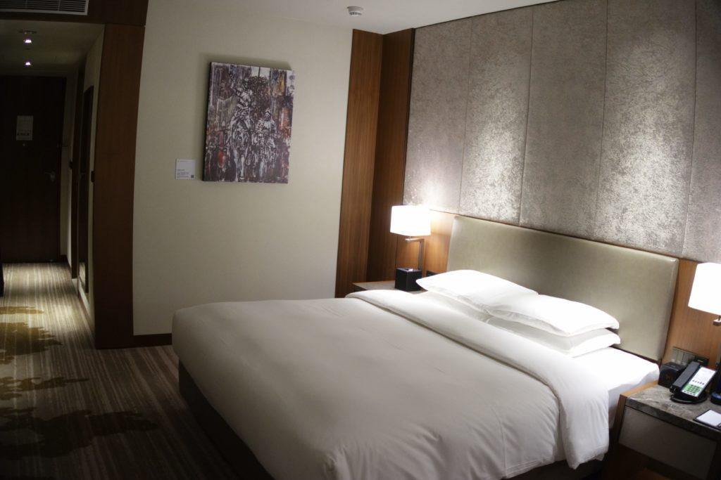 コートヤード台北部屋ベッド2