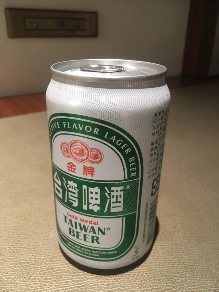 コートヤード台北部屋台湾ビール