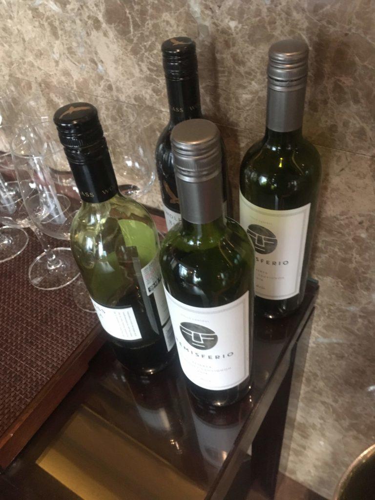シェラトングランド仁川クラブラウンジ赤ワイン