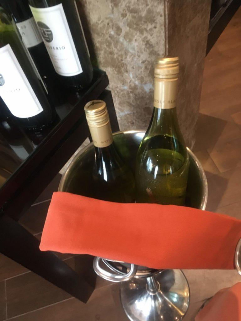 シェラトングランド仁川クラブラウンジ白ワイン