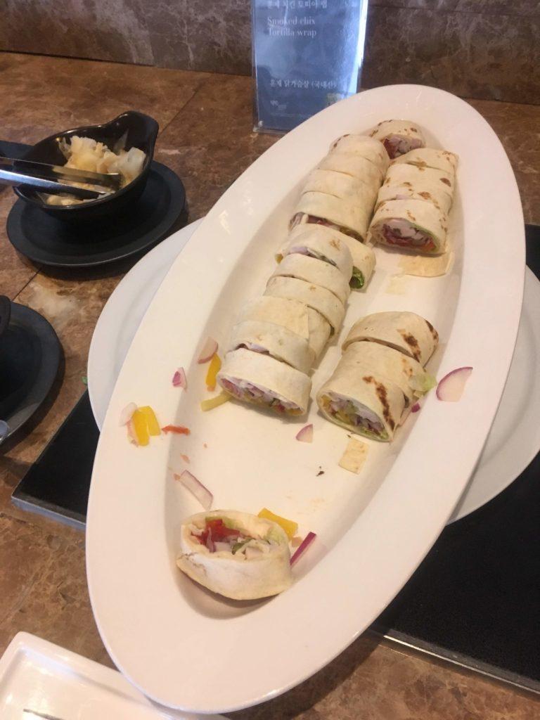 シェラトングランド仁川クラブラウンジお食事4
