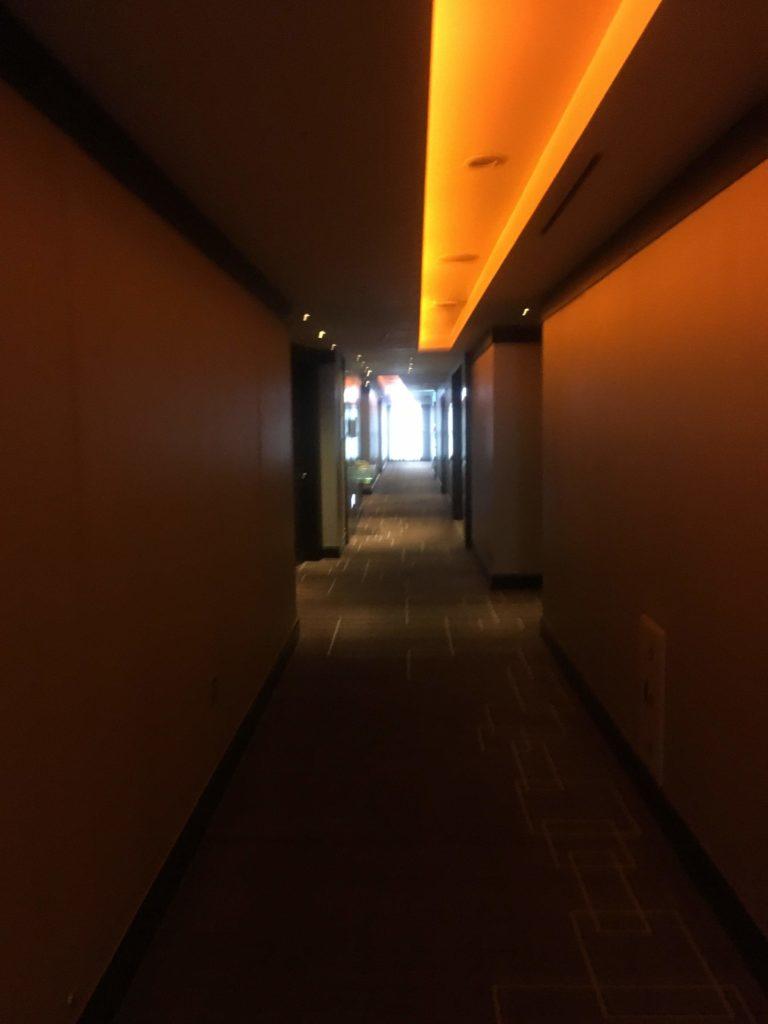 シェラトングランド仁川廊下