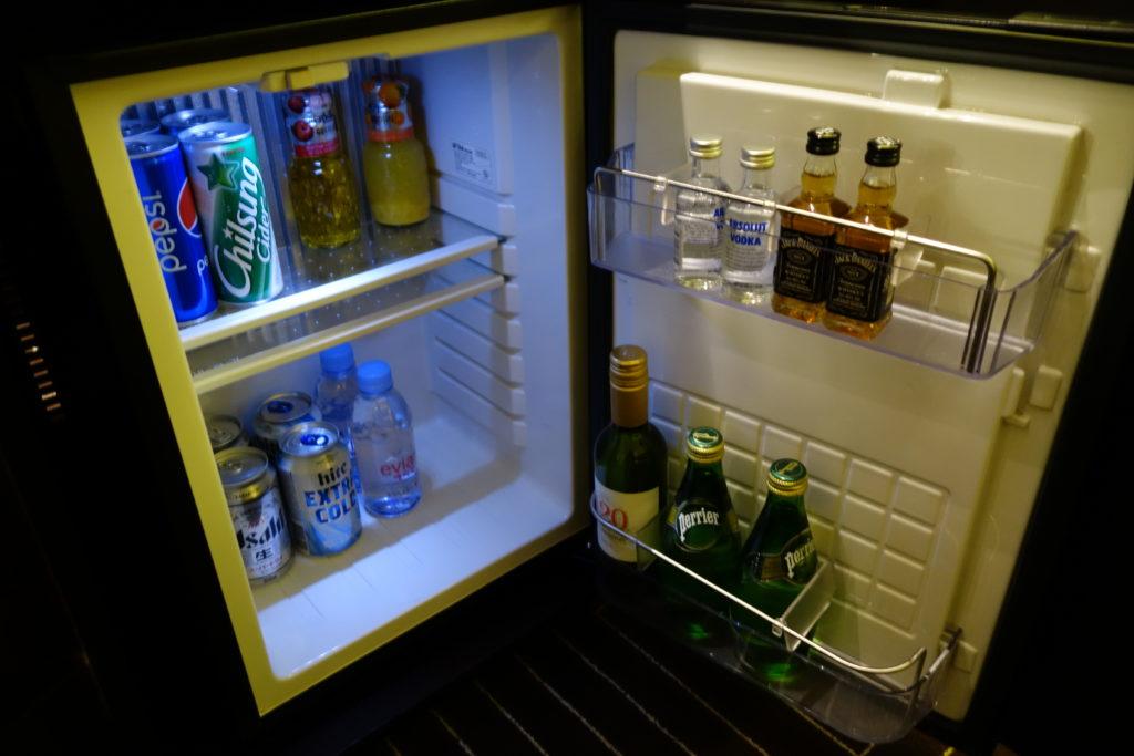 シェラトングランド仁川冷蔵庫