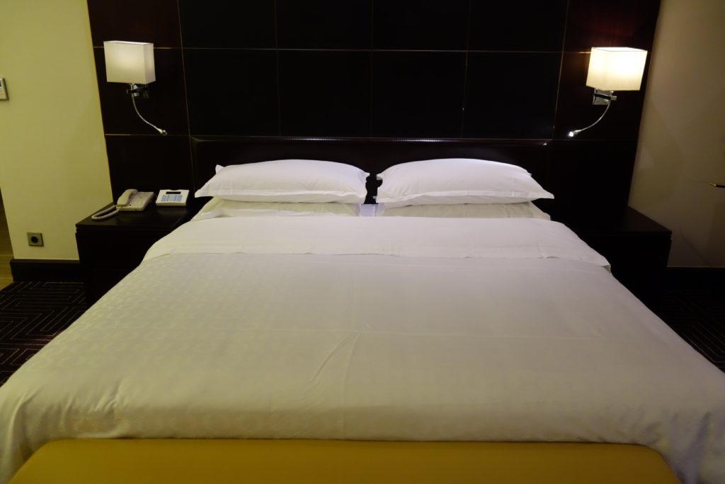 シェラトングランド仁川ベッド