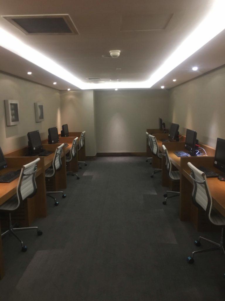 上海浦東空港中国国際航空ラウンジビジネスセンター