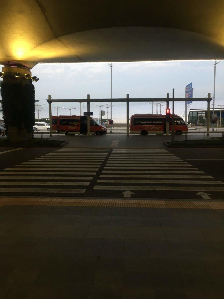 インチョン ネストホテルインチョン空港バス停道程