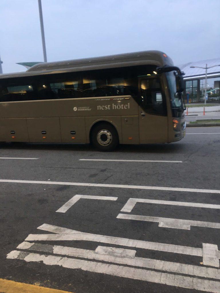 インチョン ネストホテルバス