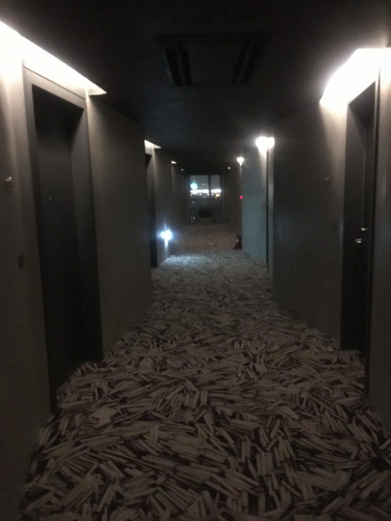 インチョン ネストホテル廊下