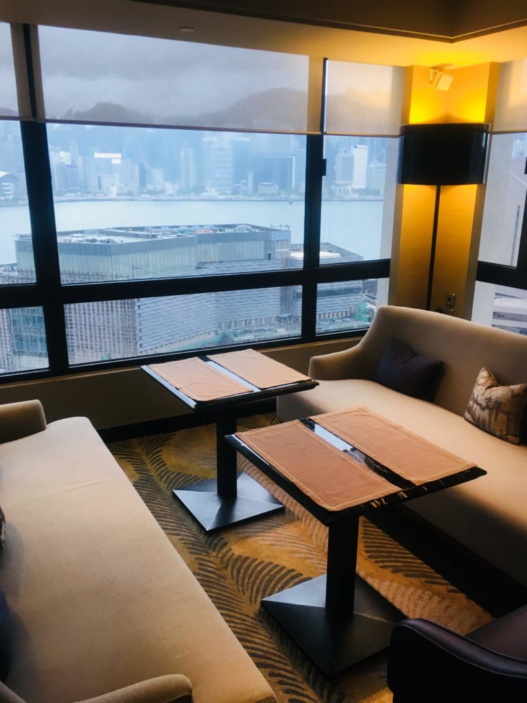 シェラトン香港ホテル&タワーズラウンジ座席