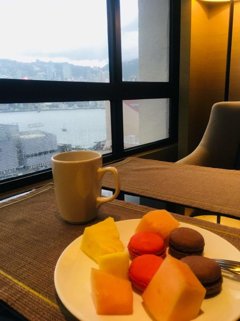 シェラトン香港ホテル&タワーズラウンジスイーツ
