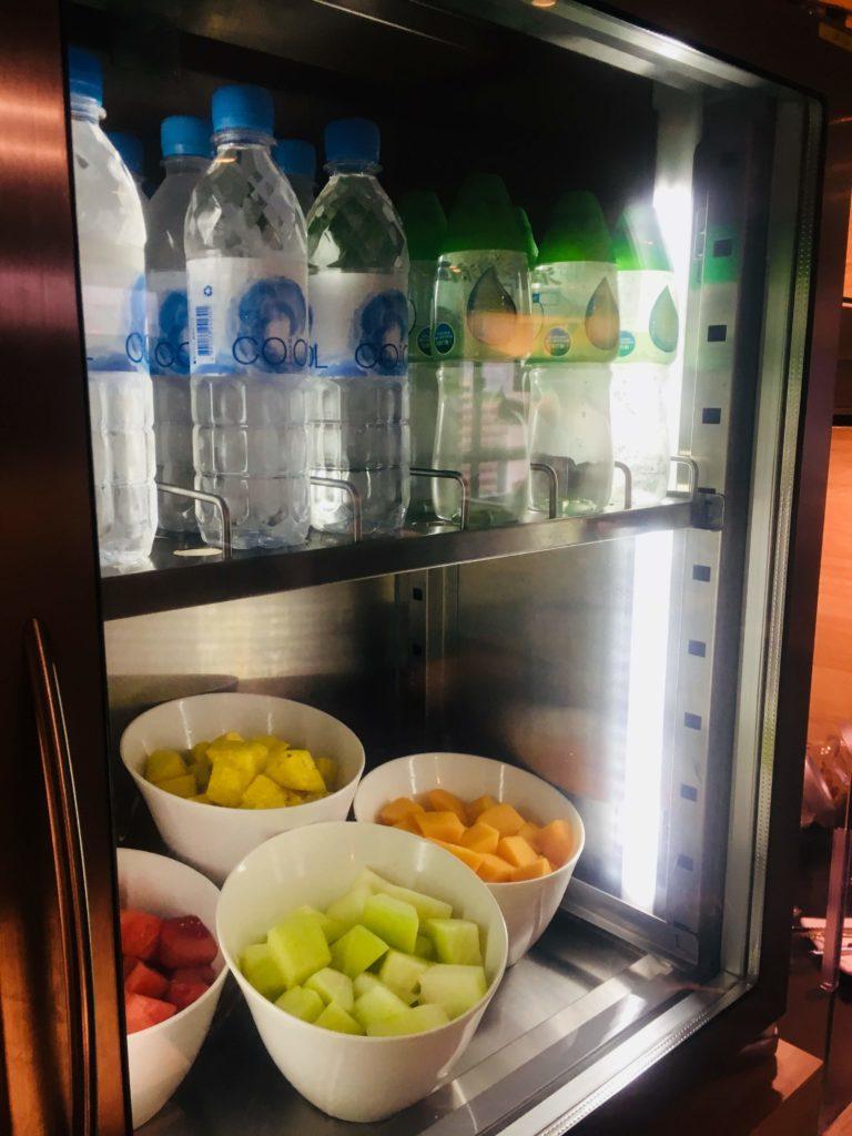 シェラトン香港ホテル&タワーズラウンジ冷蔵庫