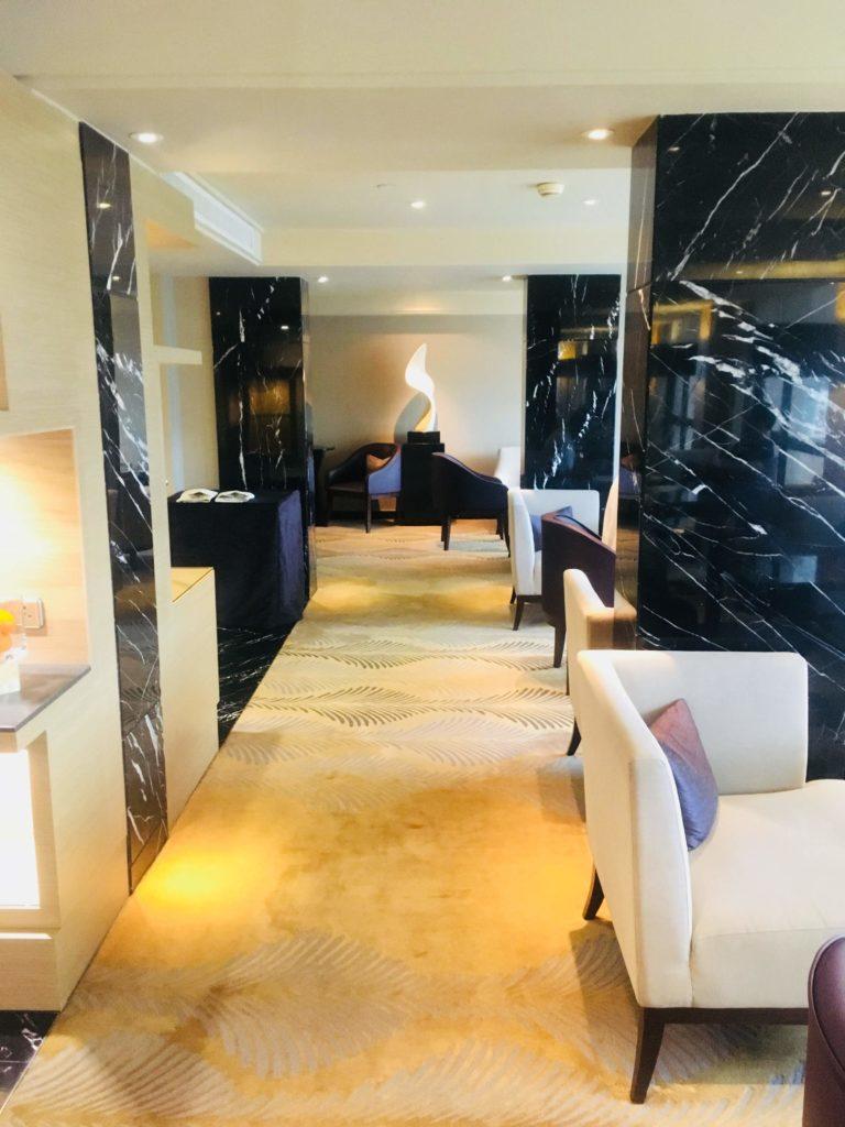 シェラトン香港ホテル&タワーズラウンジ雰囲気