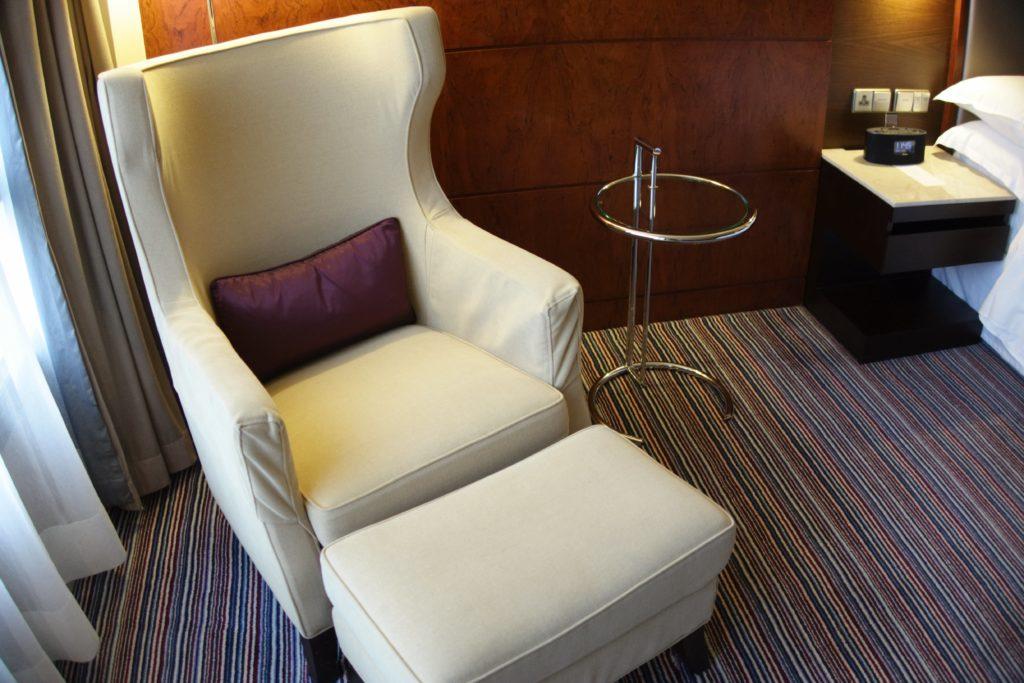 シェラトン香港ホテル&タワーズソファー