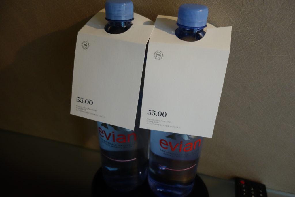 シェラトン香港ホテル&タワーズ有料の水