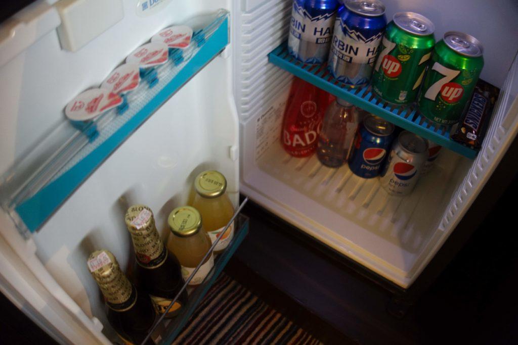 シェラトン香港ホテル&タワーズ冷蔵庫