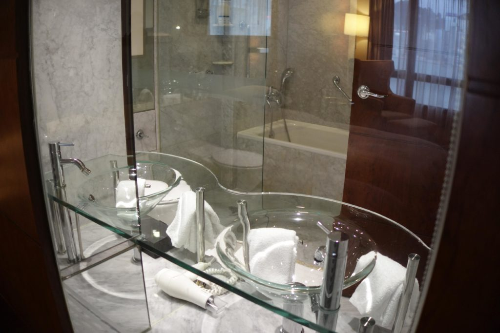 シェラトン香港ホテル&タワーズお風呂場