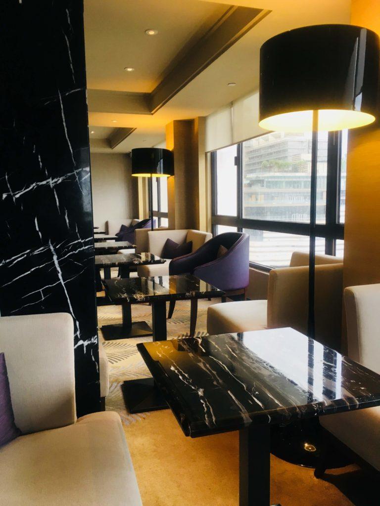 シェラトン香港ホテル&タワーズラウンジ座席2