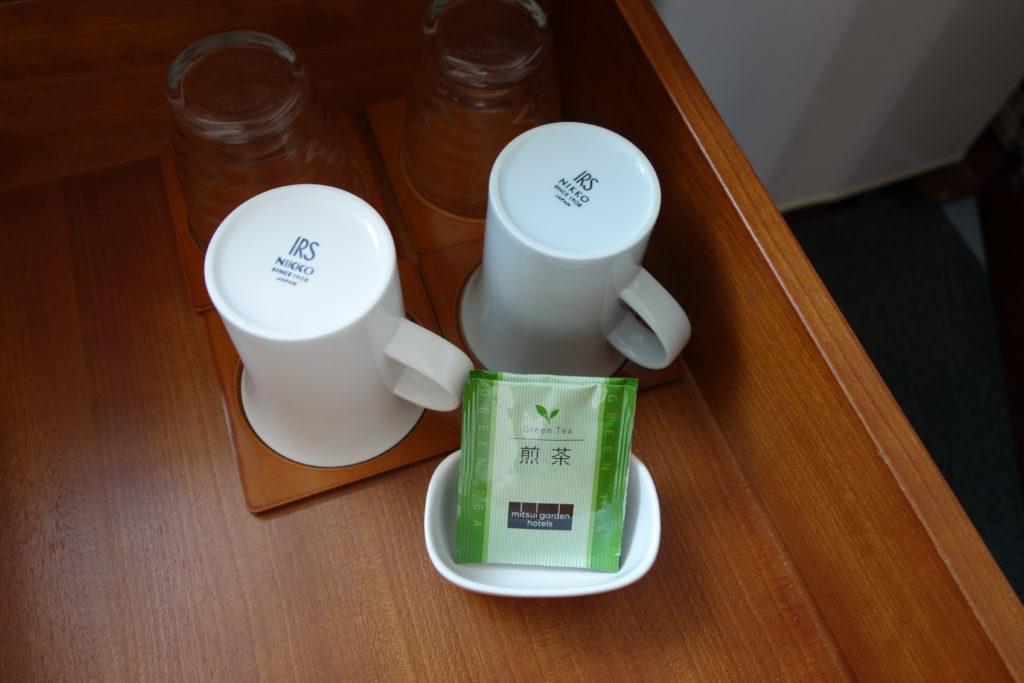 三井ガーデンホテル仙台お部屋お茶