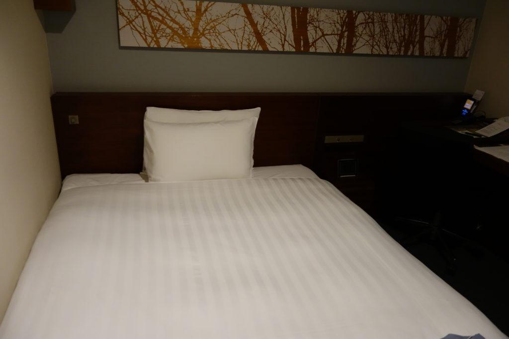 三井ガーデンホテル仙台お部屋ベッド