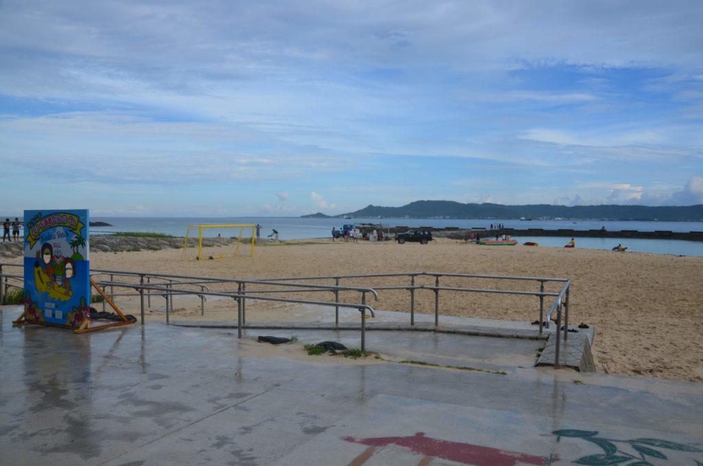 はるかなレシーブ聖地巡礼西原きらきらビーチ2