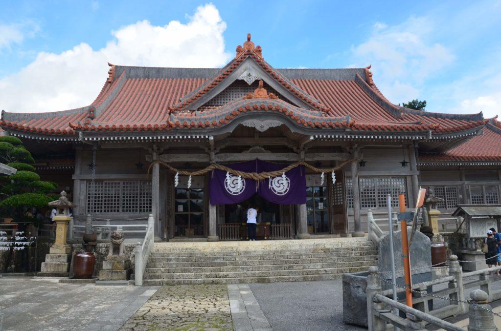 はるかなレシーブ聖地巡礼宜野湾神社4